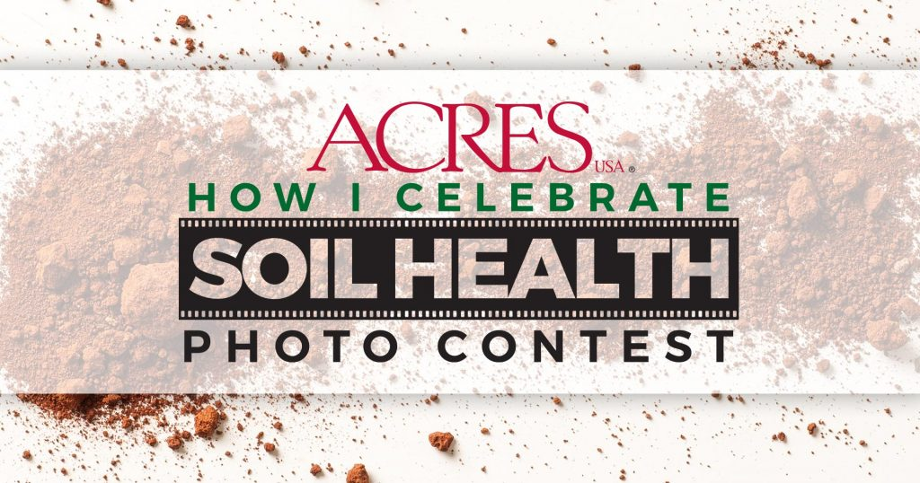How I Celebrate Soil Health Photo Contest